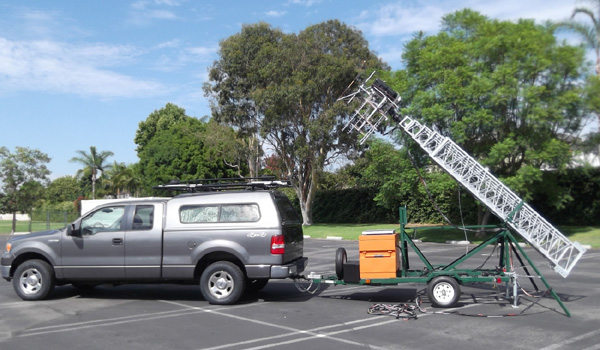 A Tower Trailer Built From A Kit